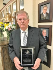 Oklahoma Military Academy honors James R. Elder